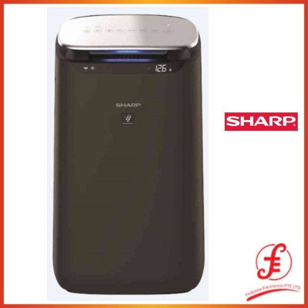 SHARP FP-J80E 60M2 FP-J80E PLASMACLUSTER AIR PURIFIER FOR LARGE AREA WITH WITH HAZE MODE HEPA FILTER AND WIFI (FP-J80E) Singapore