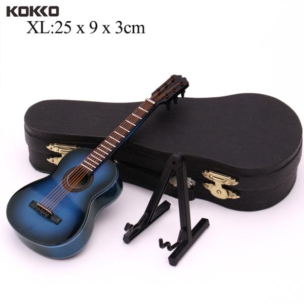 Guitar Mini, Mô Hình Thu Nhỏ, Đàn Guitar Cổ Điển Thu Nhỏ Nhạc Cụ Mini Bằng Gỗ Bộ Sưu Tập Mô Hình