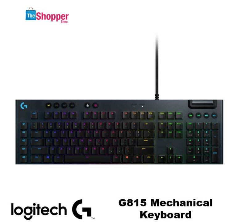 Logitech G815 Mechanical Keyboard Singapore