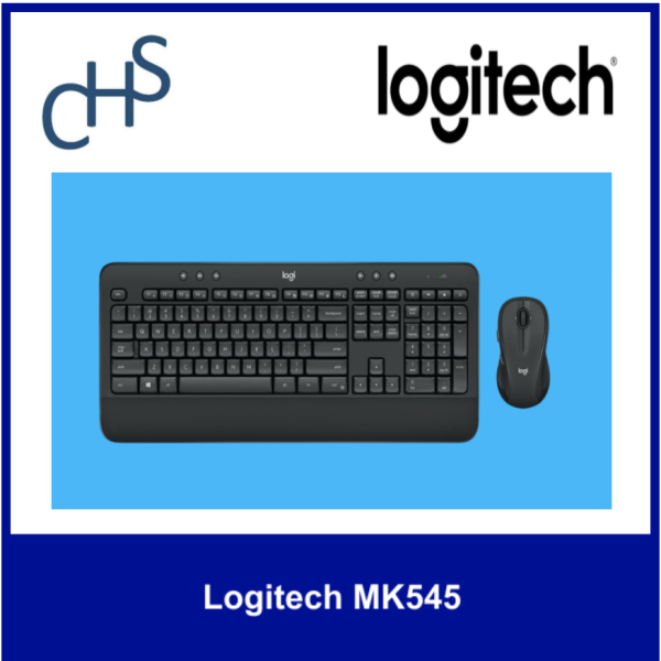(Original) Logitech MK345 | Wireless  2.4GHz  (10 meters) | Compatible with:  Windows® 10 or later, Windows 8, Windows 7, Chrome OS™ | Singapore