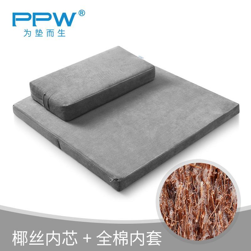 PPW Futon throw pillow Big Head Buddha Meditation Pad Thick High Portable Prayer Mat Smooth Household Pad Prayer Mats da zuo dian