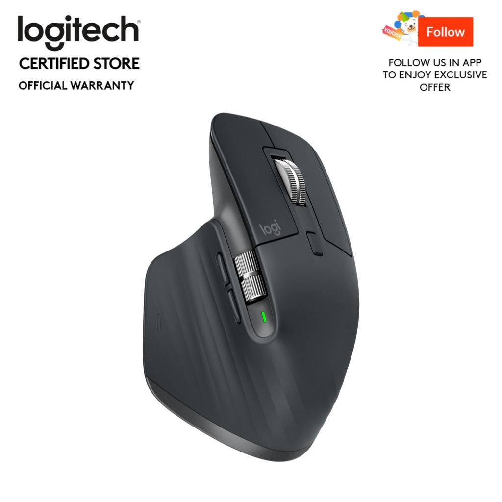Logitech MX Master 3 Wireless Mouse With Hyper Fast Scroll Wheel
