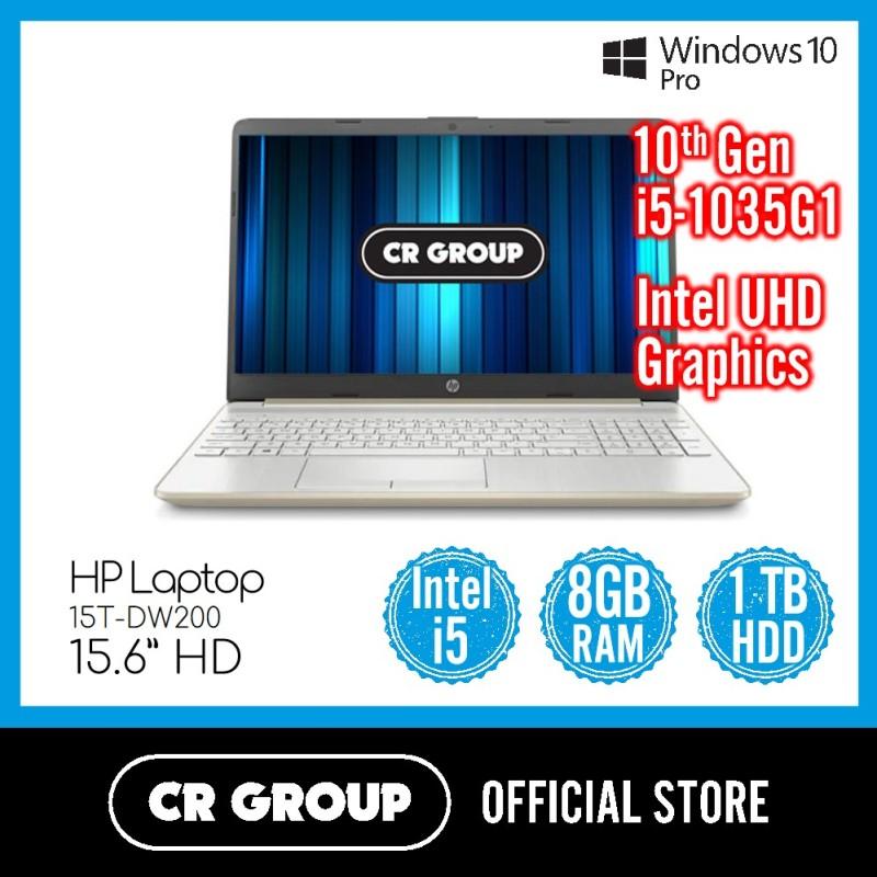 HP Laptop 15T-DW200 15.6 Inch HD   Intel Core i5-1035G1   8GB DDR4 RAM   1TB SATA HDD   Intel UHD Graphics