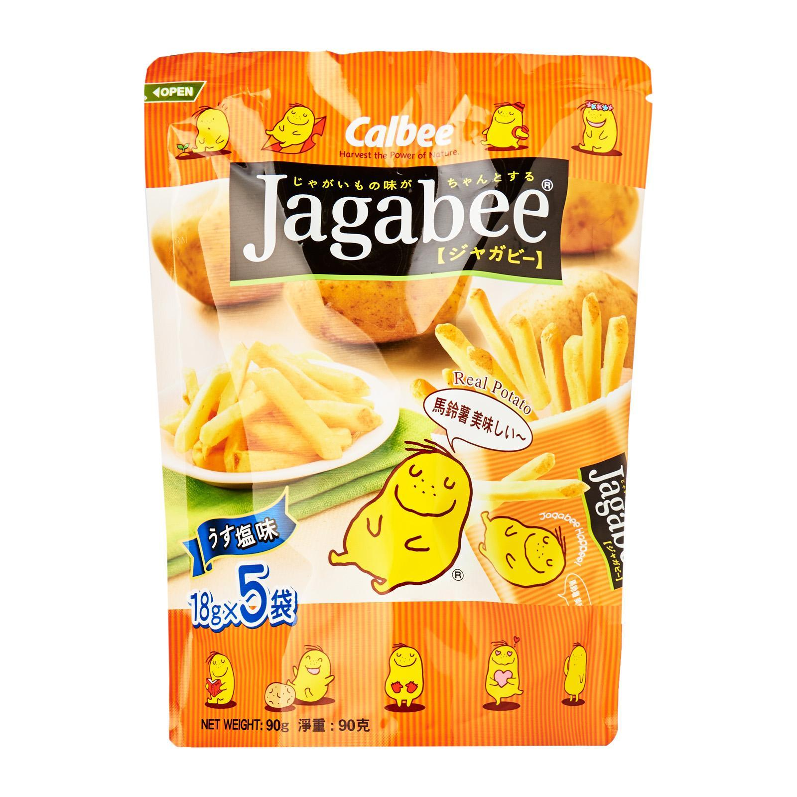Calbee Jagabee Original Pouch Potato Sticks