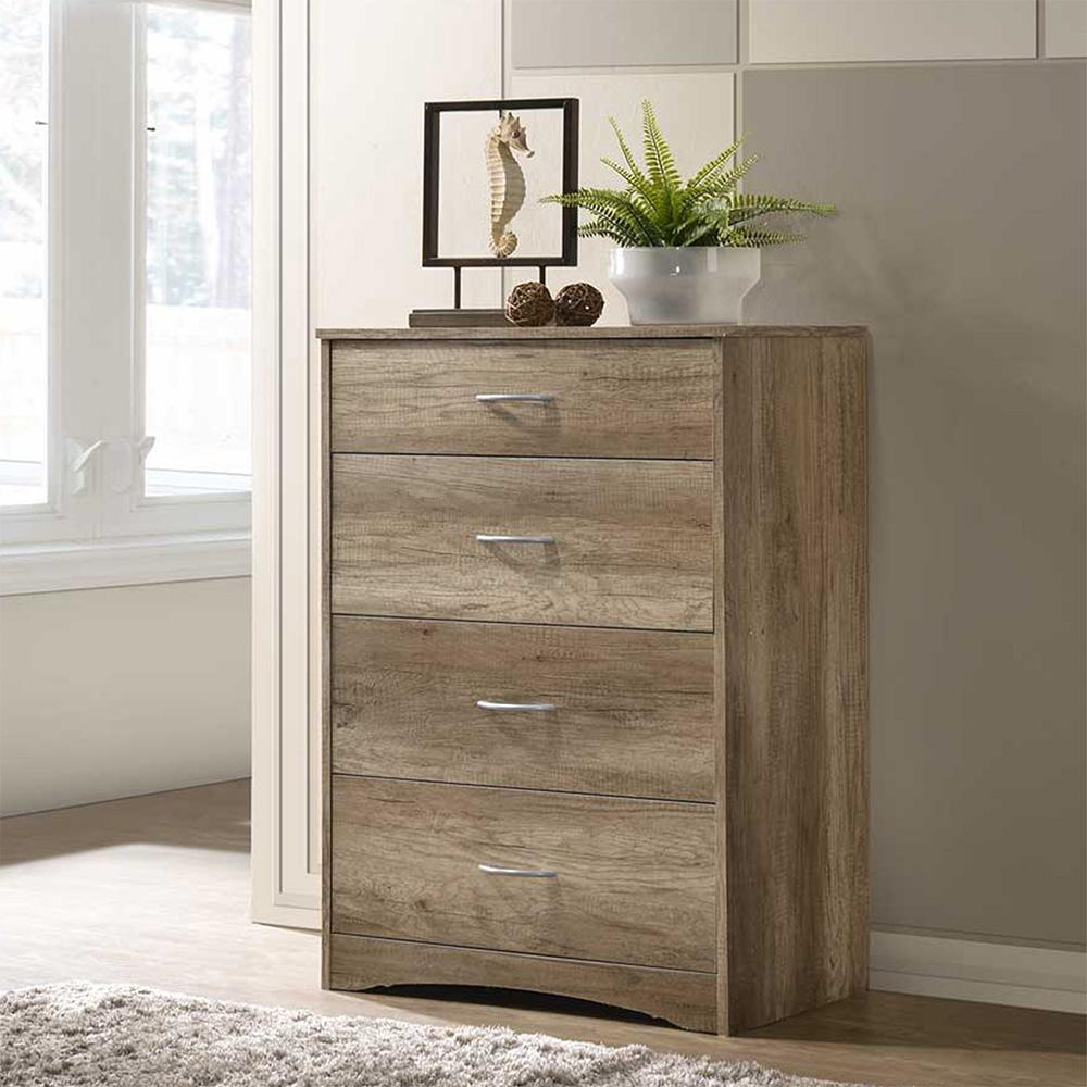 SO ECO 4 DRAWER CHEST / DRESSING CHEST / STORAGE CABINET