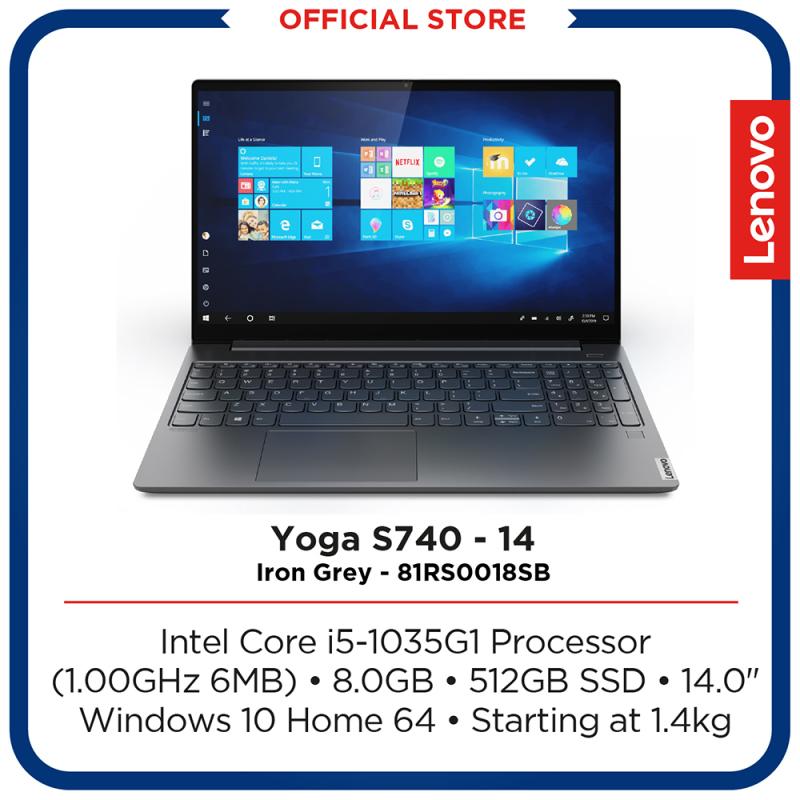 Lenovo Yoga S740-14IIL   Intel Core i5-1035G1 Processor    8GB   512GB   14   Iron Grey   2Y Premium Care warranty