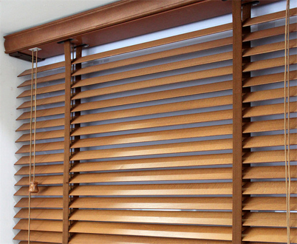 Wood Blinds Childrens Room Living Room Balcony Bedroom ge re fang shai Shade Electric Lift Blackout Drapes/Curtains