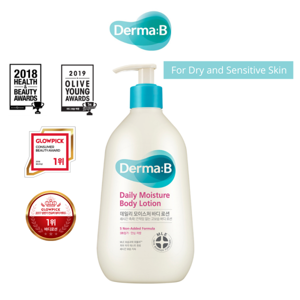 Buy Derma B Daily Moisture Body Lotion [SG Exclusive Distributor] Singapore