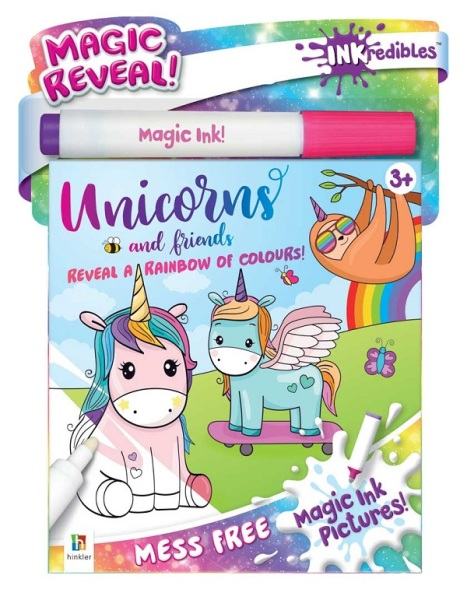 Inkredibles Magic Ink Pictures: Unicorns and More / English Toddler Books / Activity Books / (9781488914737)