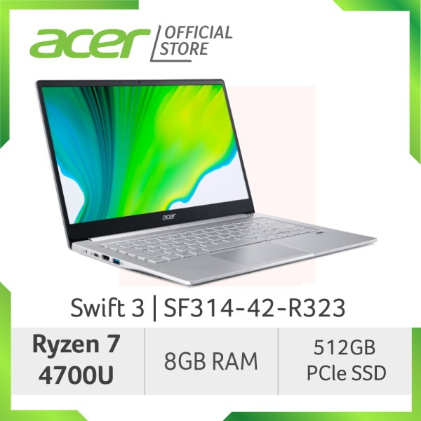 Acer Swift 3 SF314-42-R323 Thin and Light Laptop with Ryzen 7 4700U Processor