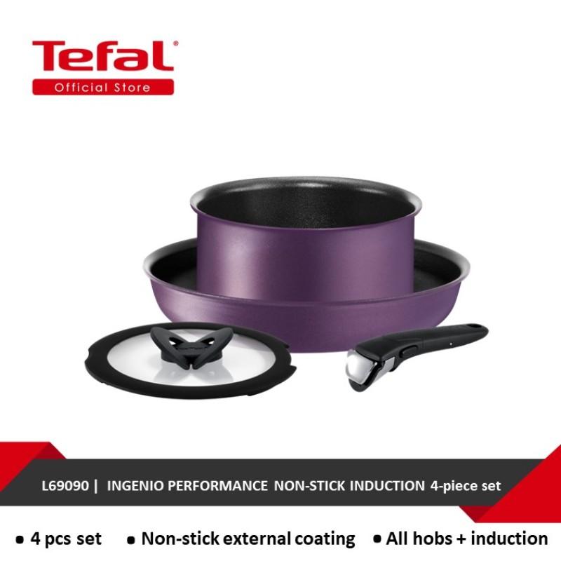 Tefal Ingenio Performance Non-stick induction 4-piece set L69090 Singapore
