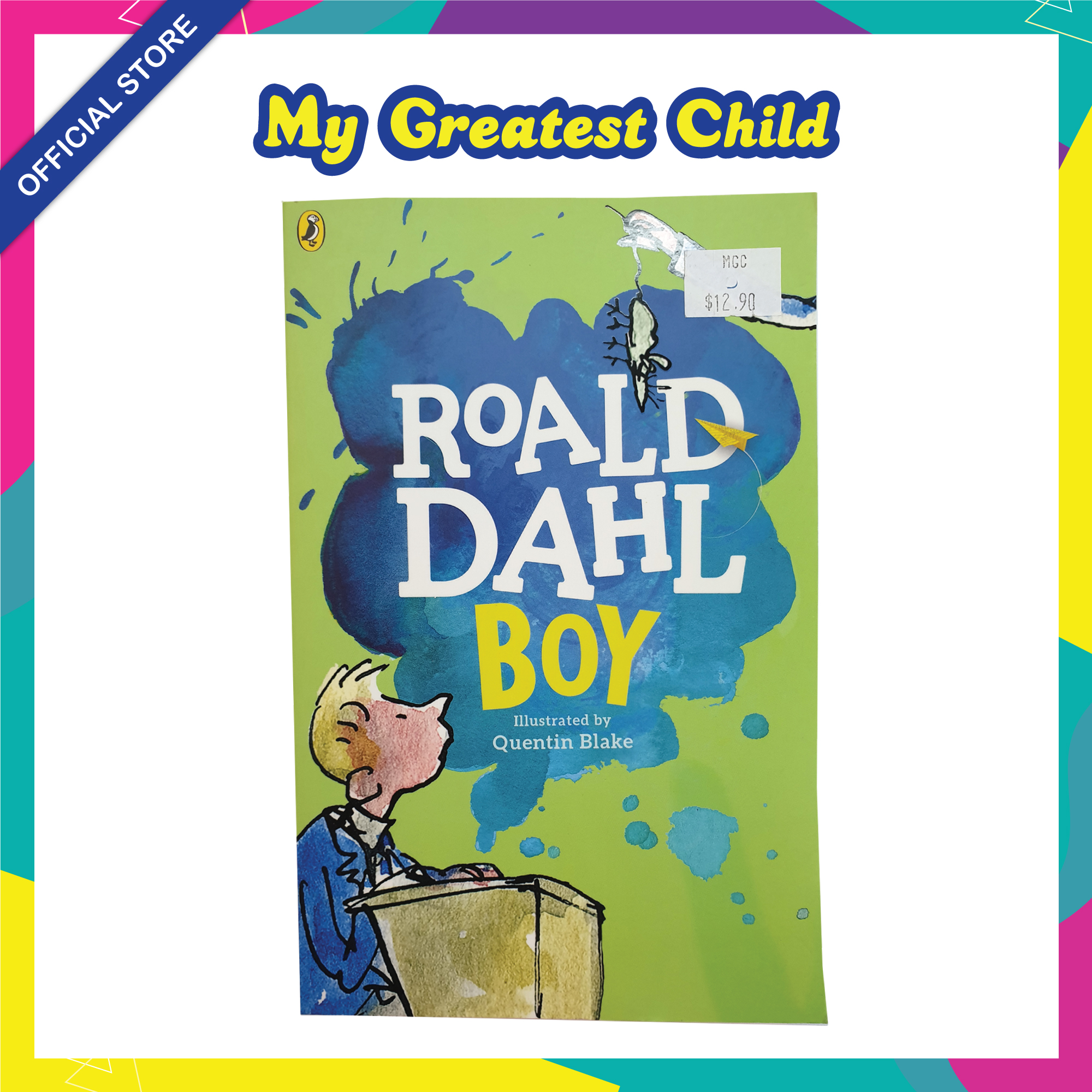 Boy - Roald Dahl English Paperback Childrens Book (For Ages 7+)