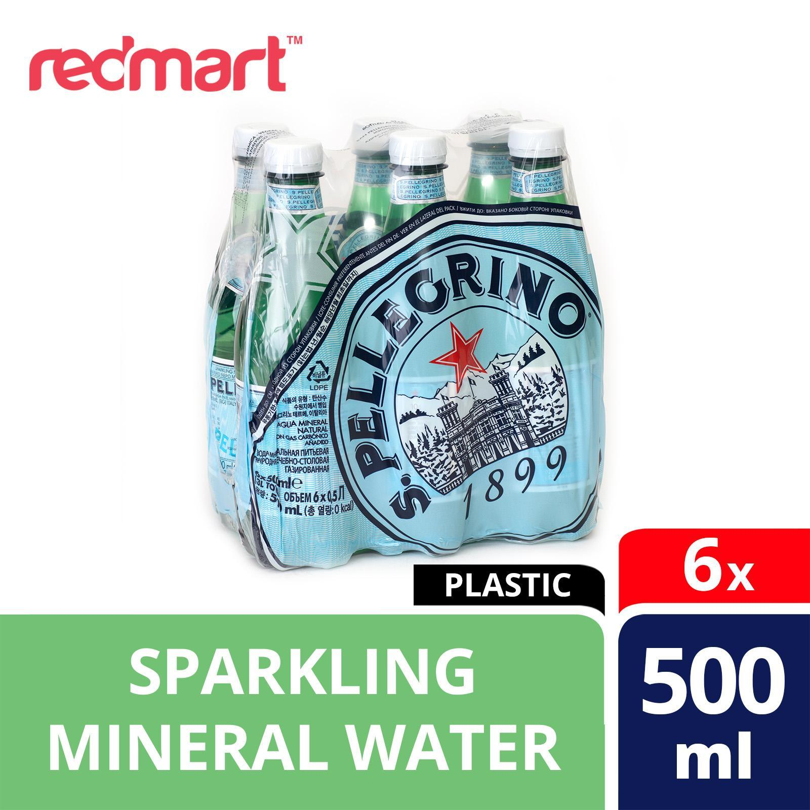 San Pellegrino Natural Mineral Bottle Water -Sparkling