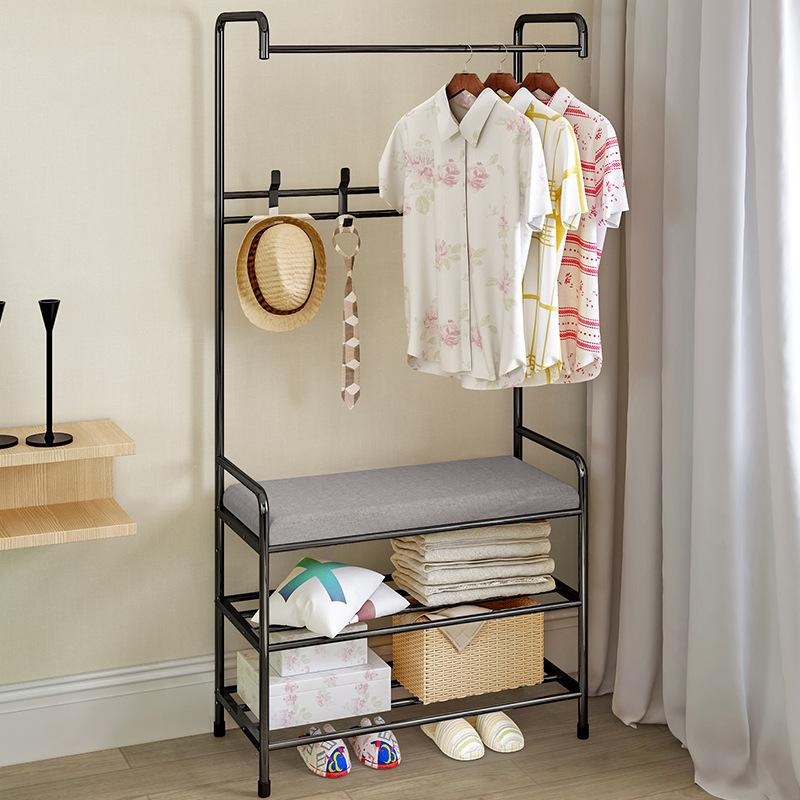 Hallstand Landing Bedroom Clothes Rack Simplicity Cloth Rack Household Economy Sedurre Attrarre Storage Shelf Mwt3 By Taobao Collection.
