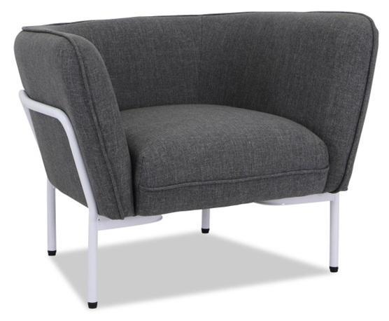 Sheldon Single Sofa Armchair - Light Grey