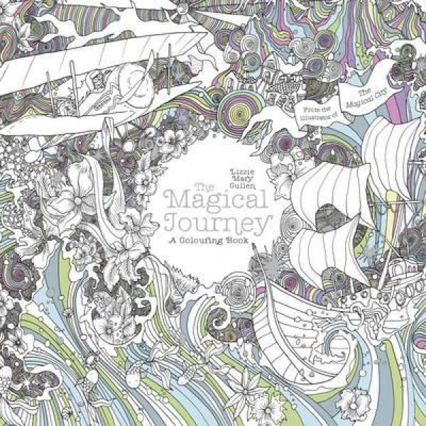 Magical Journey: A Colouring Book by Lizzie Mary Cullen