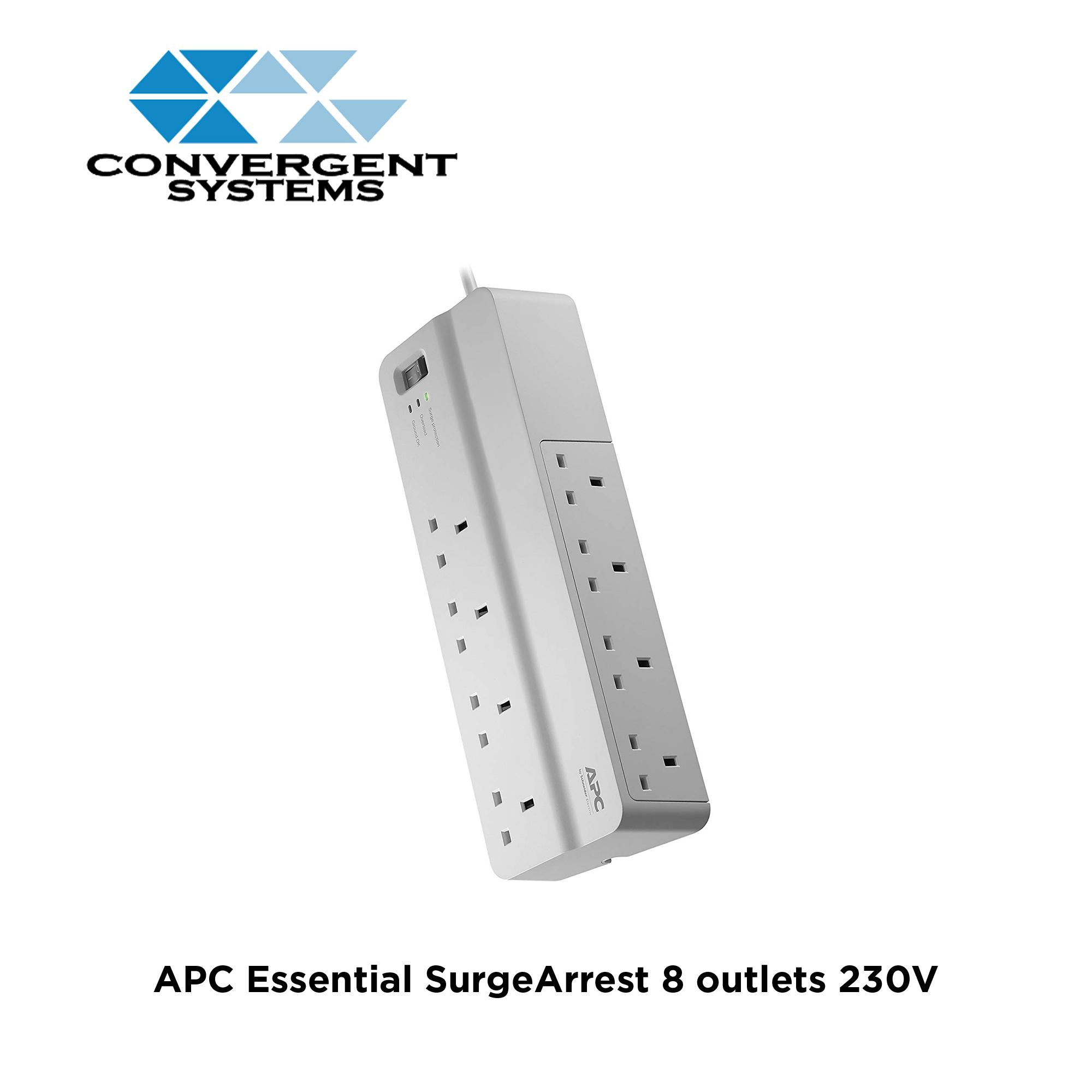 APC Essential SurgeArrest 8 outlets 230V UK