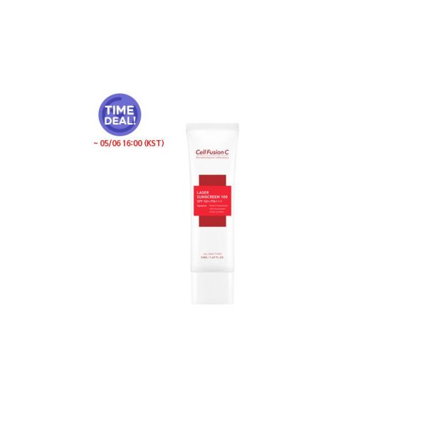 Buy [Cell Fusion C] *Time Deal* *renewal* Laser Sunscreen 100 SPF50+/PA+++ 50ml Singapore