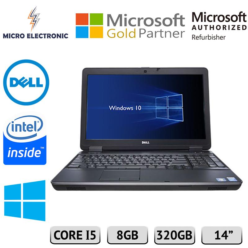 Dell Latitude E6440 14 Business Laptop Intel Core i5 Windows 10 8GB 320GB HDD DDR3 RAM DVD+/-RW Refurbished