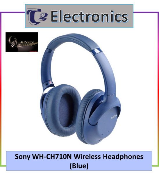 Sony WH-CH710N Wireless Noise Cancelling Headphone - T2 electronics Singapore
