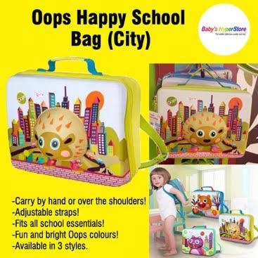 Oops Happy School Bag (City)