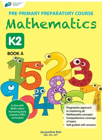 Pre-primary Preparatory Course Mathematics K2 Book A/Preschool Assessment Books