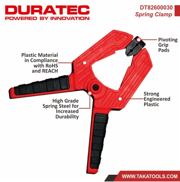 Duratec Spring Clamp DT82600030 - 2pcs