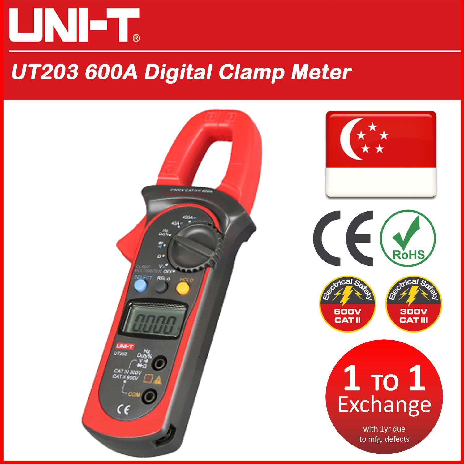 UT203 Digital Clamp Meter