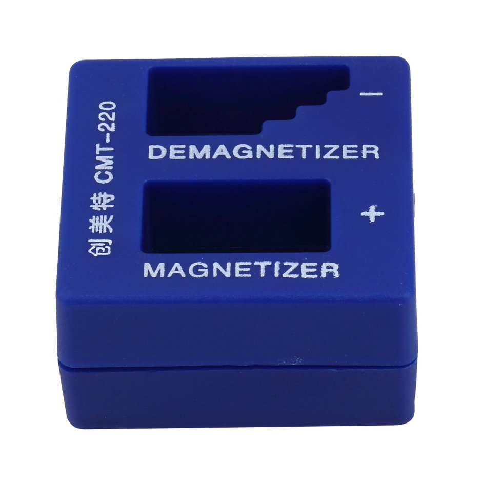 HERE 2 in 1 Magnetizer Demagnetizer Portable Screwdriver Magnetic Pick Up Tool