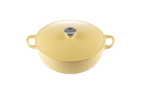 Le Creuset Marmite Stir-fry Pot 26cm, Classic (Mimosa) Singapore