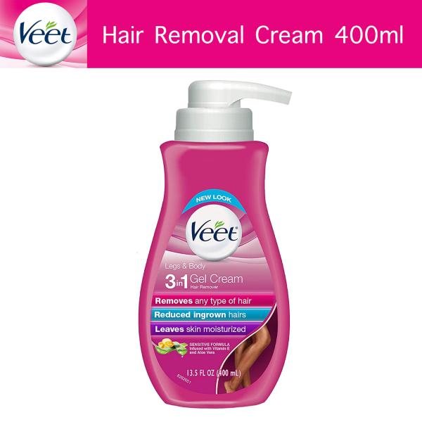 Buy Veet Gel Hair Removal Cream, Sensitive Formula, 13.5 oz | Bikini hair removal, body hair removal, hair remover for women Singapore