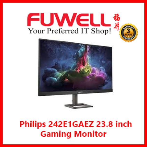 PHILIPS 242E1GAEZ 23.8 Full HD Gaming Monitor with 165Hz [ 3Years Local Warranty ]