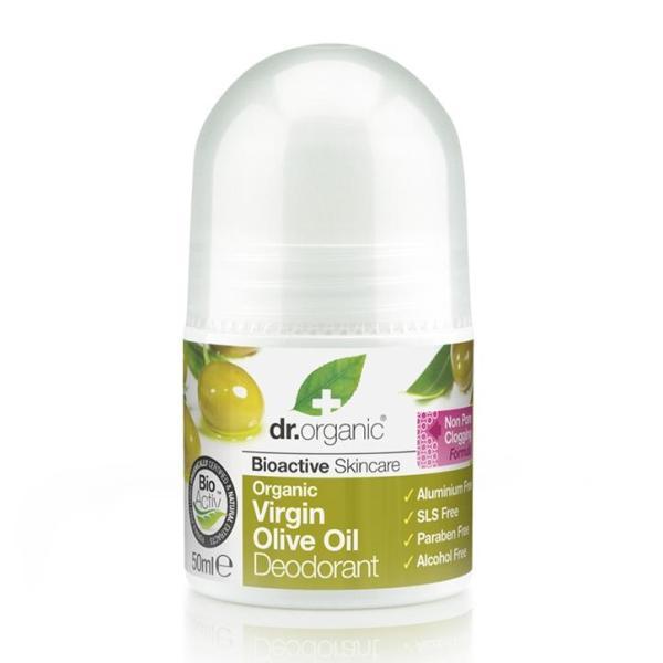 Buy Dr Organic Virgin Olive Oil Deodorant 50ml Singapore