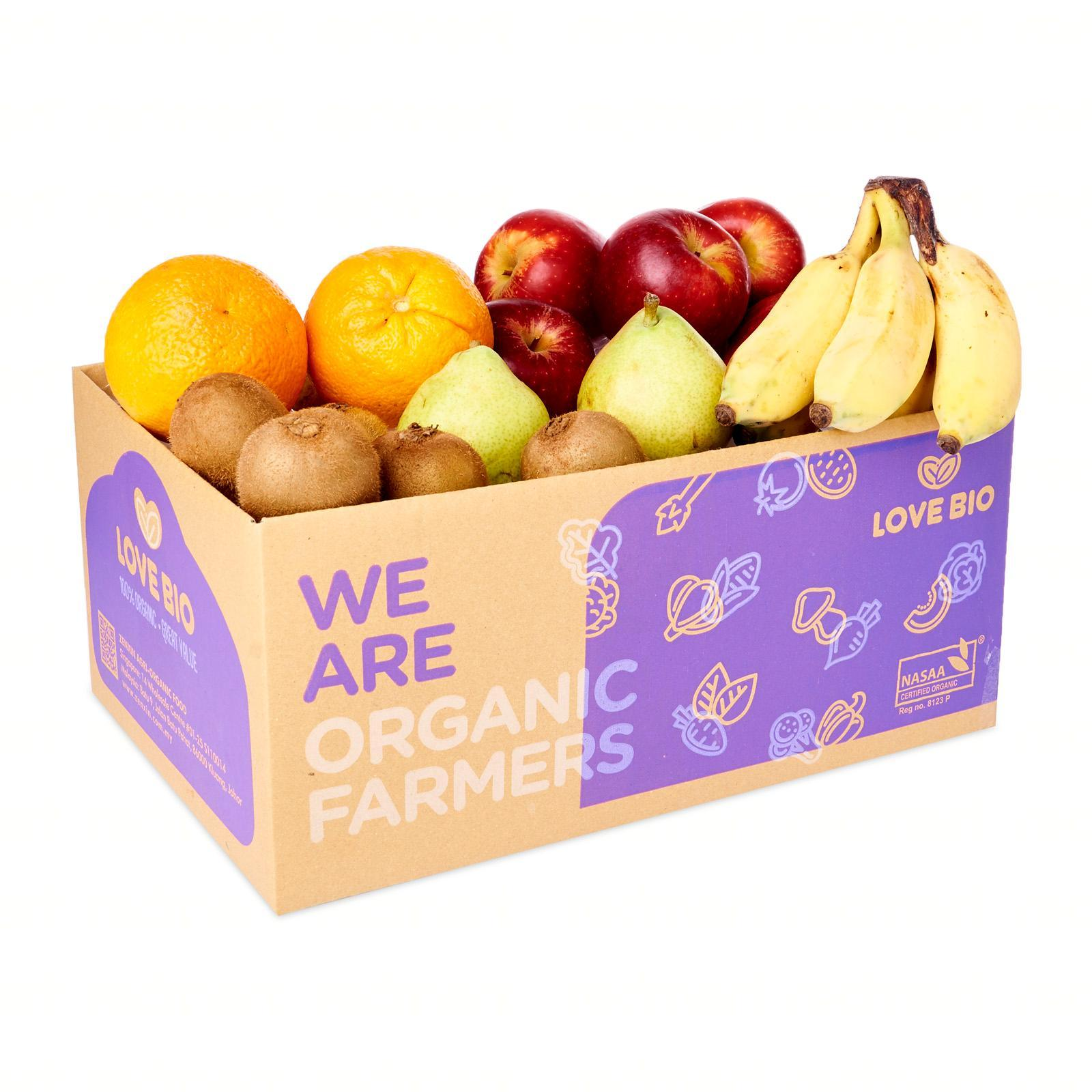 LOVE BIO Organic Fruit Box 2-3kg