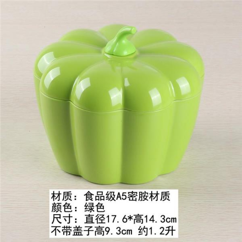 Household Melamine Plastic Pumpkin Candy Box Wedding Dried Fruit with Lid HYUNDAI Living Room Fruit Plate Fashion Cute Decoration