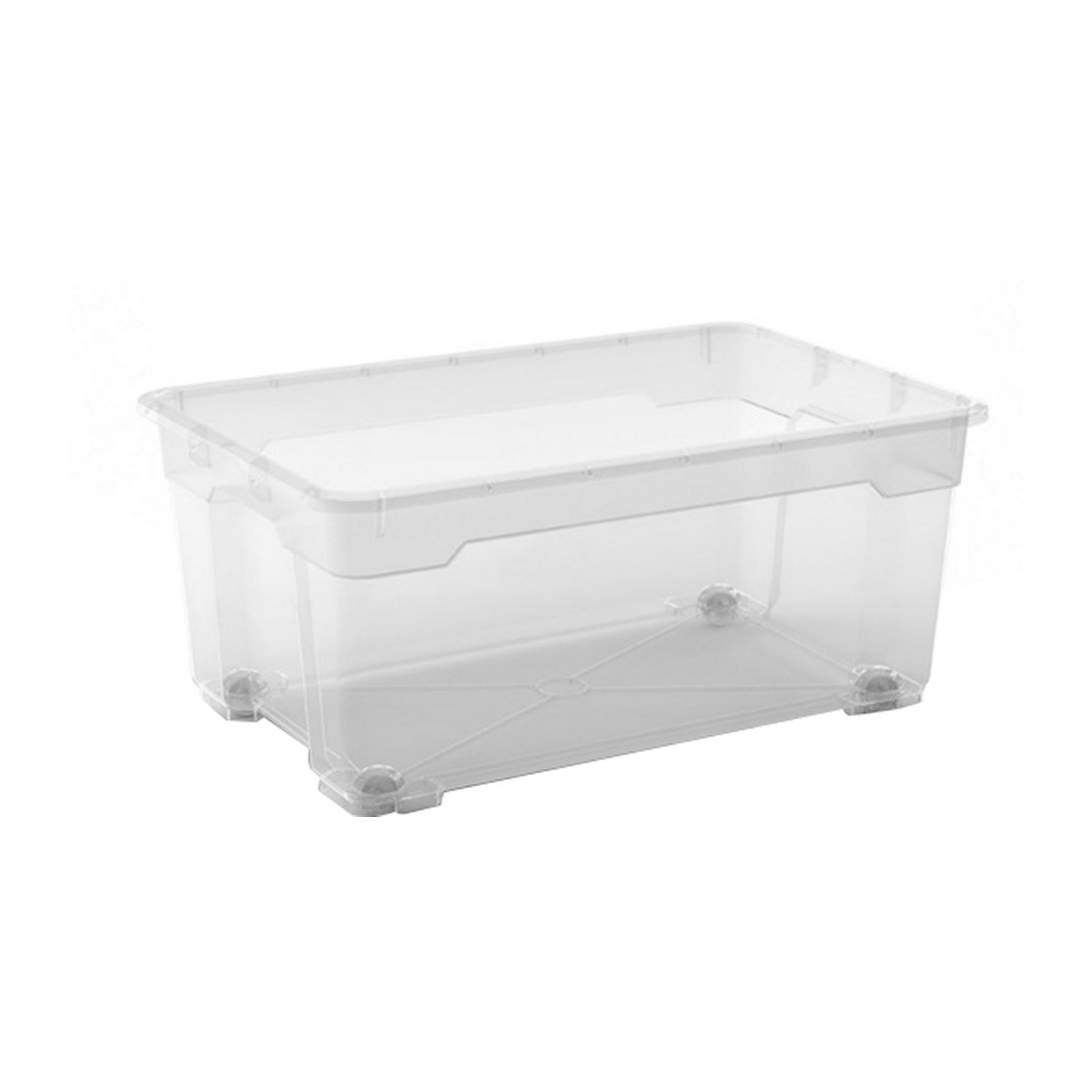 KIS Clear Storage R Box L With Lid