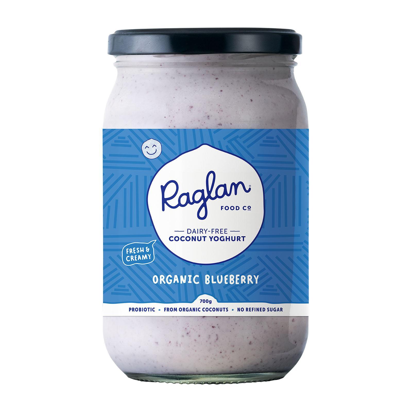 Raglan Coconut Yoghurt Organic Blueberry