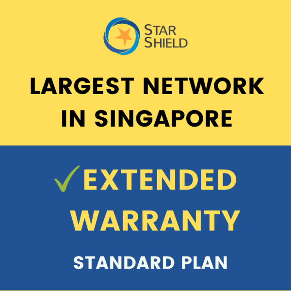 Star Shield Extended Warranty (Standard Plan: 1-Year Plan)