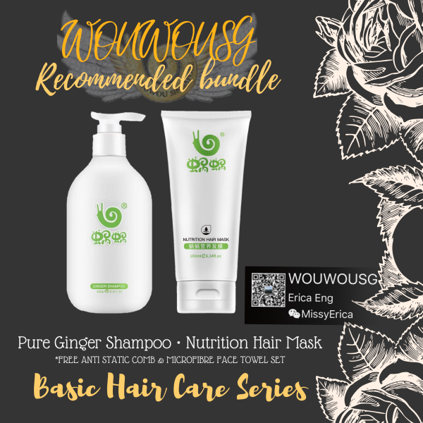 Buy WouWou Ginger Shampoo and Hair Mask Singapore