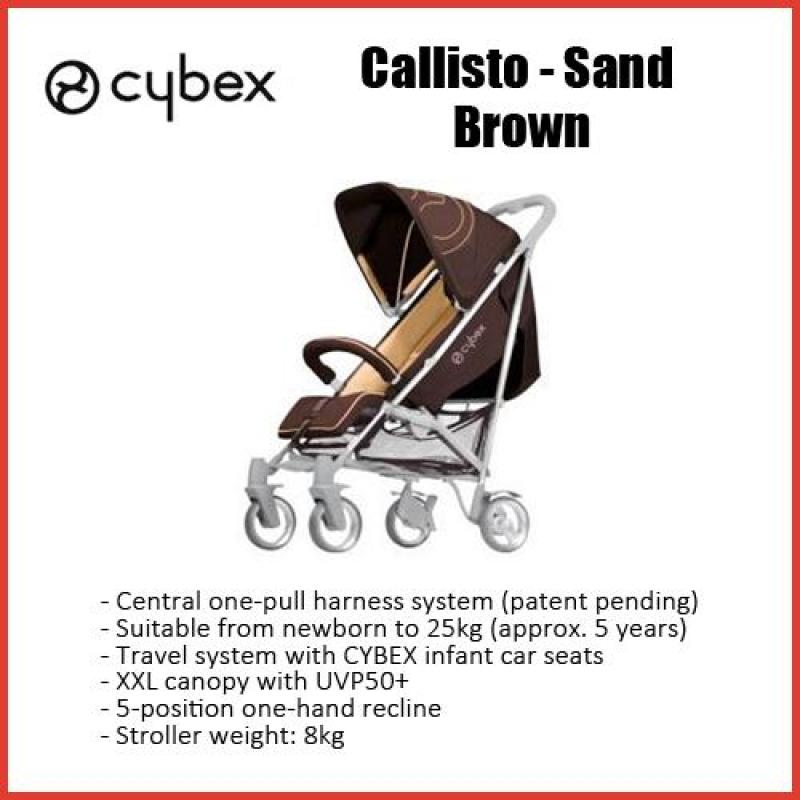 Cybex Callisto (Sand - Brown) Stroller - Local seller warranty 3 months Singapore