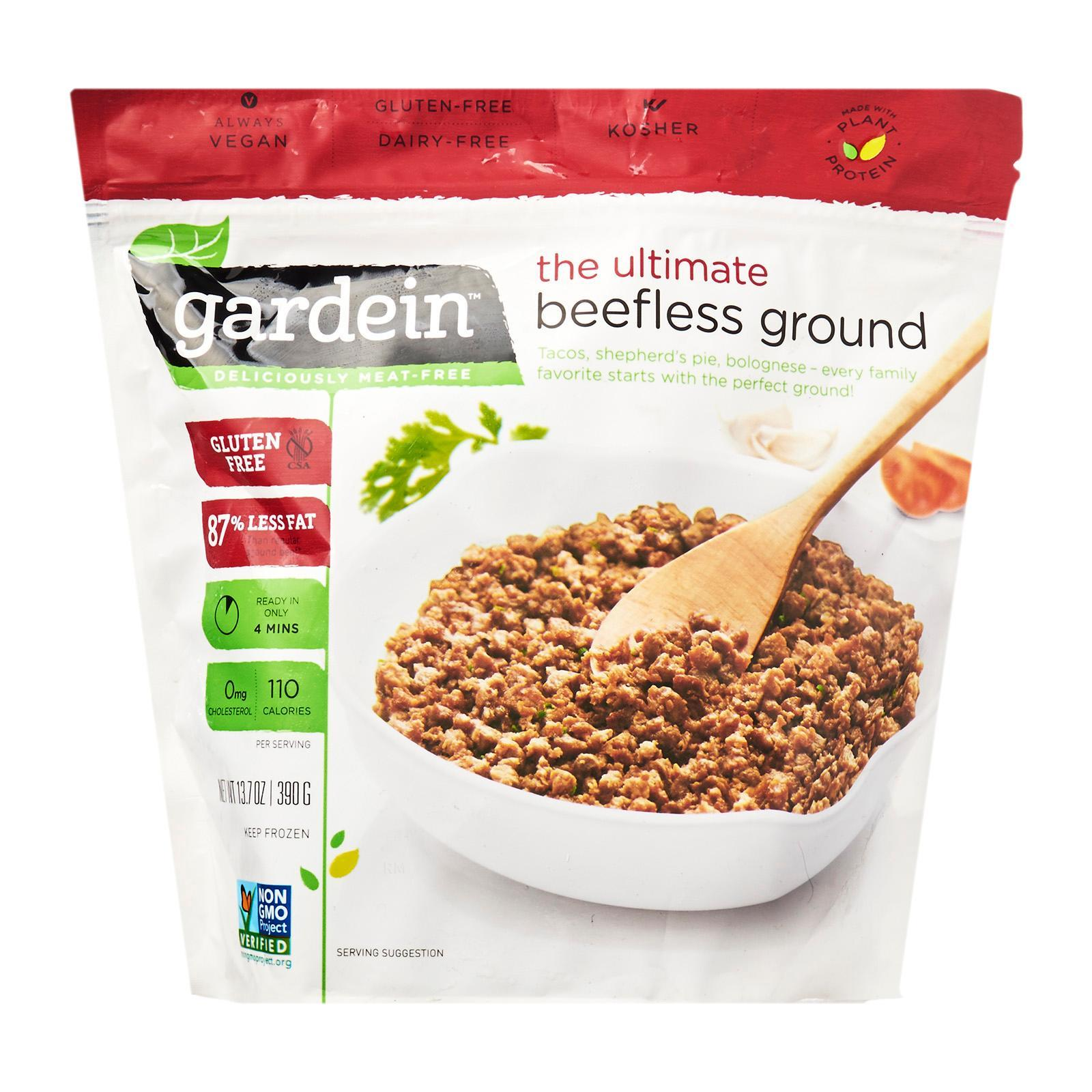 Gardein Gluten Free Vegetarian Beefless Ground - Frozen