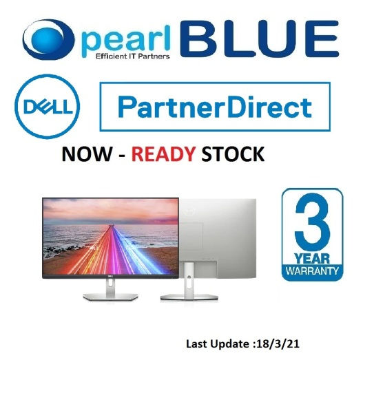 Dell S Series 27 Monitor - S2721HN | 27 monitor beautifully designed, ready for your everyday lifestyle.