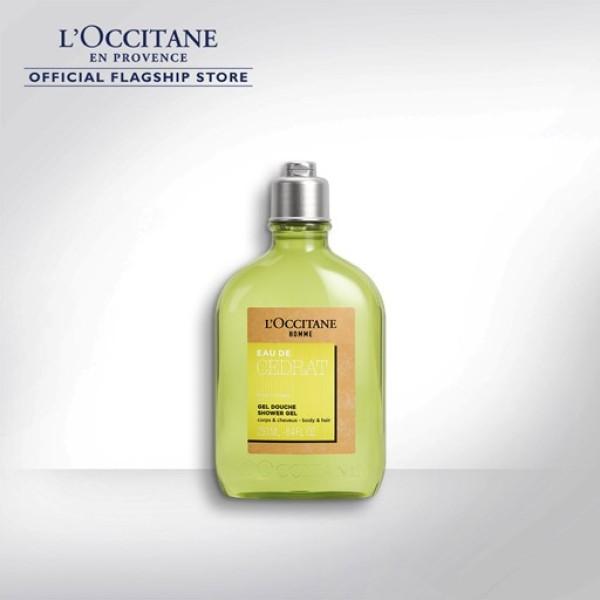 Buy LOCCITANE Cedrat Shower Gel 250ml Singapore