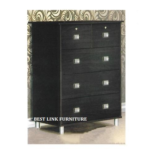 BEST LINK FURNITURE BLF YC70 Chest Of 5 Drawers