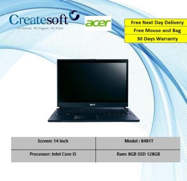 [Refurbished] Acer 8481T 8GB 128GB SSD Core i5 i7