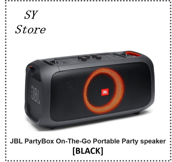 JBL PartyBox On-The-Go Portable Party Speaker - SY Store Singapore