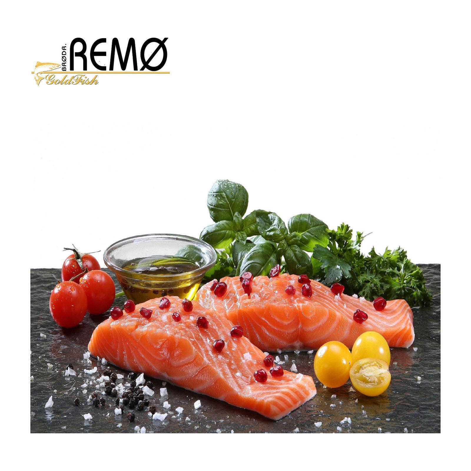 Brodr. Remo Salmon Portions - D - TRIM - Frozen - The Cellar Door