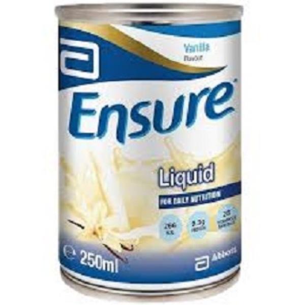 Buy Abbott Ensure Liquid 250ml, ctn of 24 cans Vanilla Singapore