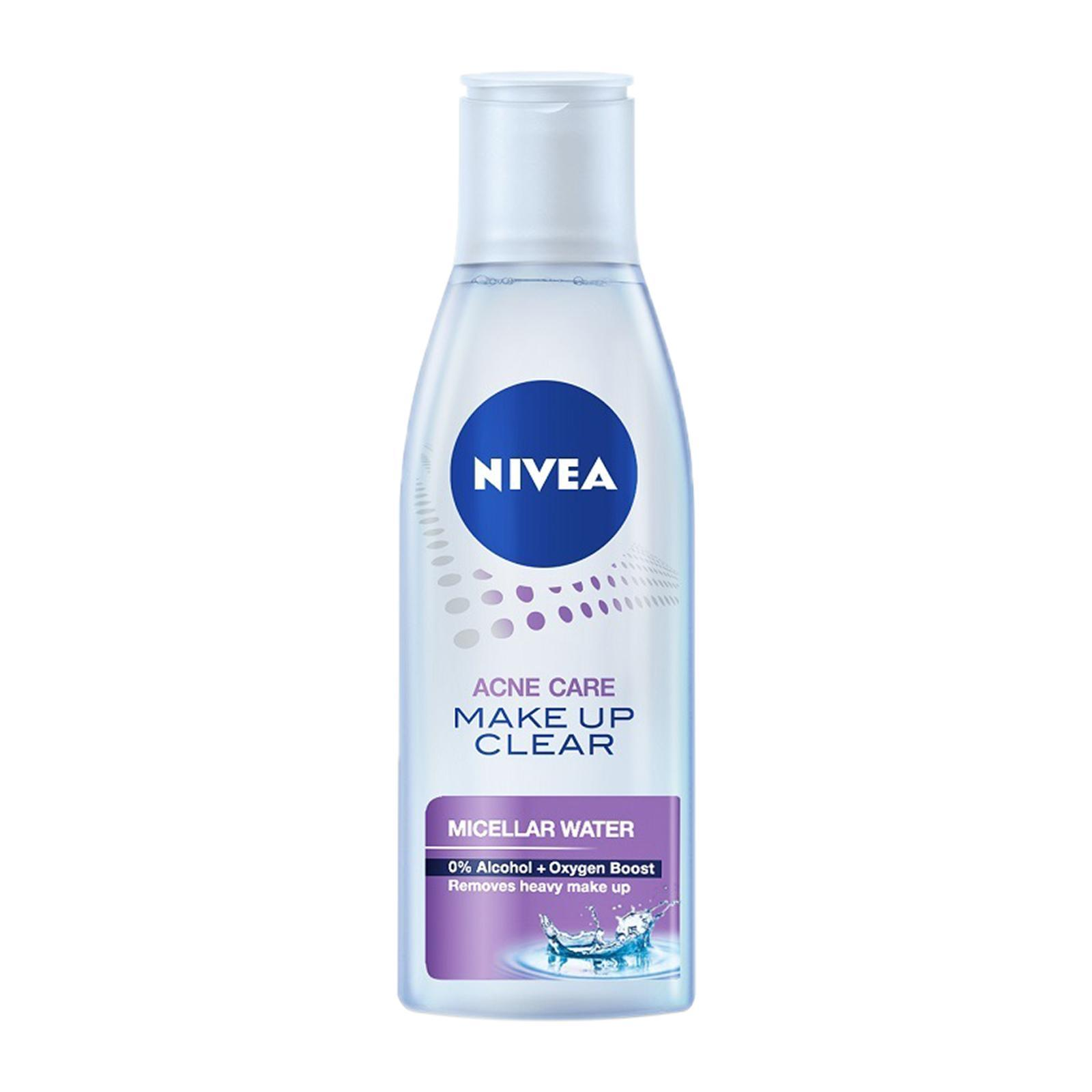 Nivea Face Care For Women Cleanser Make Up Clear Acne Care Micellar Water