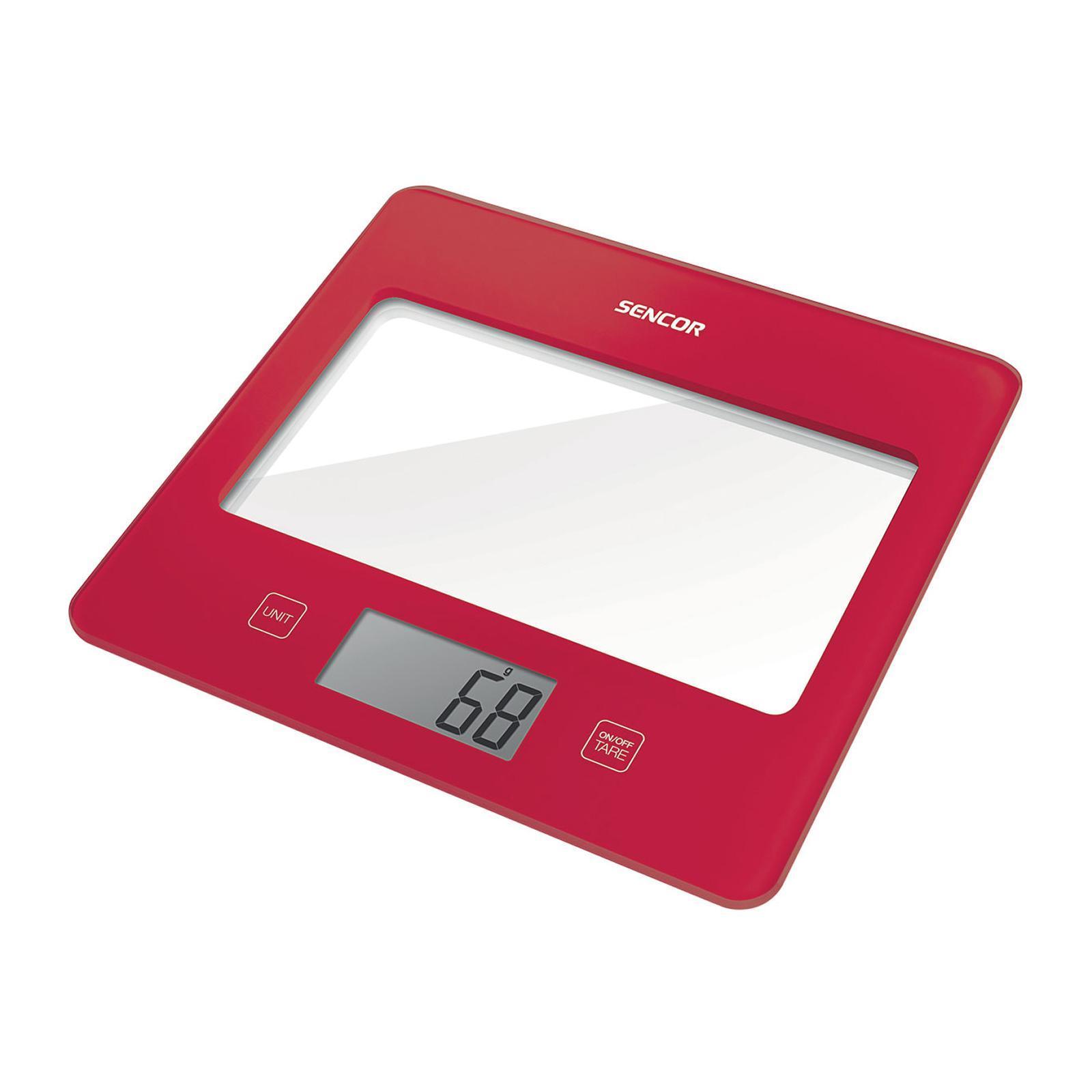 Sencor Kitchen Scale - Red